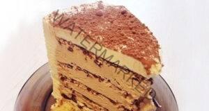 За любителите на кафето – вкусна торта без печене