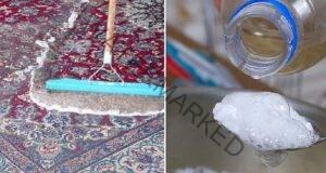 Как да почистите килима у дома? Смесете тези 2 съставки!