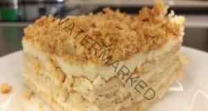 Вкусна торта без печене: Пръстите да си оближете