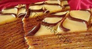 Медена торта без масло - лека и невероятно вкусна
