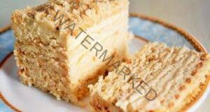 Нереално вкусна торта без печене. Супер лесна рецепта!