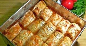 Любимите ми зелеви сарми в доматен сос: Засищащи и здравословни