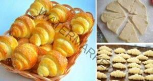 Рецептата на деня: сладки кифлички от великолепно и вкусно тесто!
