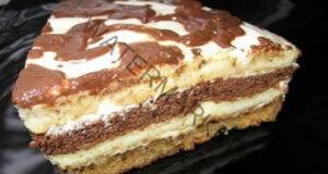 Бърза сметанова торта по стара и доказана рецепта