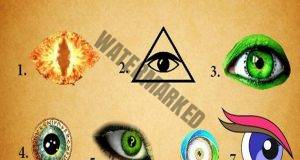 Окото, което изберете разкрива много за вашата личност