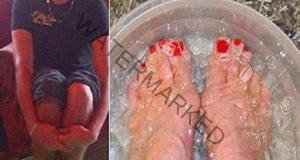 Потопете краката си в тази смес и ще забравите за болката!