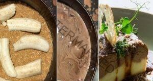 Пригответе си шоколадова торта с банани без печене!
