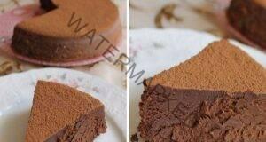 Трюфел торта. Много нежна, много шоколад, просто се топи в устата