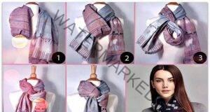 10 начина за красиво и необичайно връзване на шал стъпка по стъпка