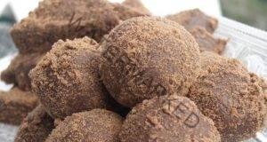 Вкусни и ароматни шоколадови топчета. Бързи за приготвяне