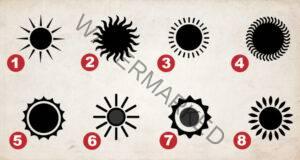 Изберете слънцето, което ви харесва, и опознайте себе си