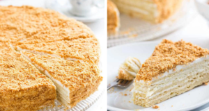 Торта Наполеон може да бъде приготвена и на тиган!