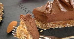 Шоколадова торта от 4 съставки, която не се пече