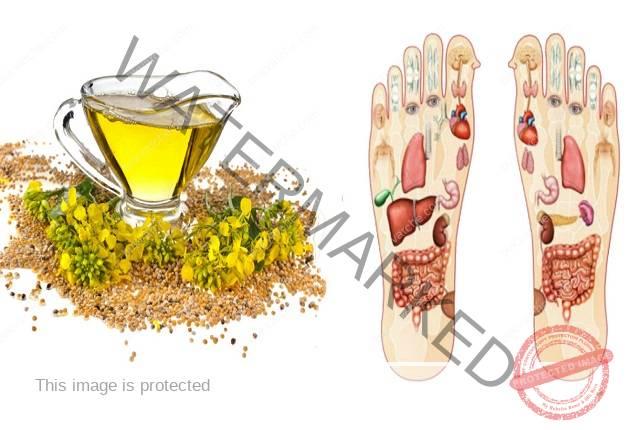 Втривайте синапено масло в стъпалата си! Ето какви са ползите