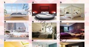 Изберете една спалня и узнайте повече за вашия характер!