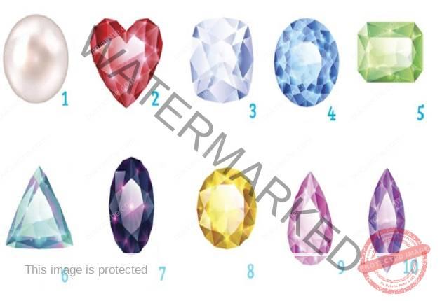 Изберете скъпоценен камък и вижте какво казва за съдбата ви!