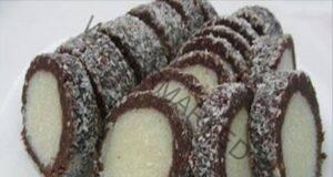 """Кокосово руло """"Рафаело"""" - десерт, който ще ви стане любим"""