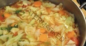 Колкото повече ядете от тази супа, толкова повече отслабвате