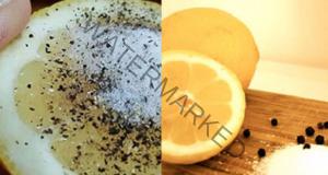 Лимон, сол и черен пипер помагат да се справите с тези 8 проблема!