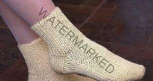 Плетенето е толкова лесно: Чорапи на две игли без зашиване
