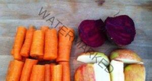 Рецепта от известен китайски диетолог с цвекло, моркови и ябълка