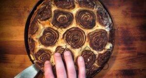 Сладък сладкиш от бутер тесто: Невероятно вкусен!
