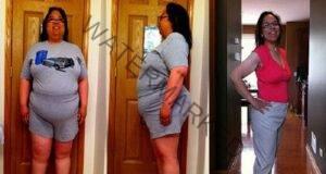 С тази отвара тя намалила наполовина теглото си за 3 месеца