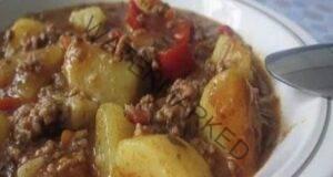Картофи с кайма: феноменален обяд, готов за 30 минути
