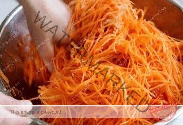 Отдавна търся тази рецепта: Моркови по корейски