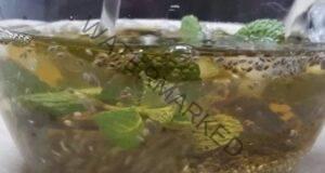 Топи мазнините: Леден зелен чай със семена от чиа