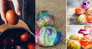 Великден наближава! Ето няколко идеи за боядисване на яйца!