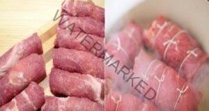 Вкусно и засищащо ястие със свинско месо и кашкавал