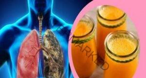 Напитка с куркума и джинджифил почиства белите дробове