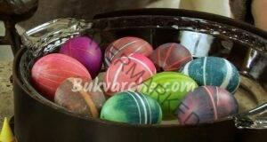Невероятно Обикновен ластик за декорация на великденските яйца