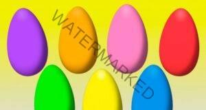Символика на цветовете на великденските яйца