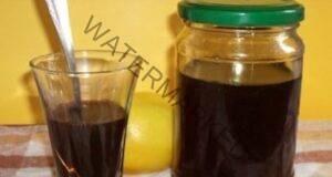 Сироп от орехи против кашлица и възпаление на гърлото