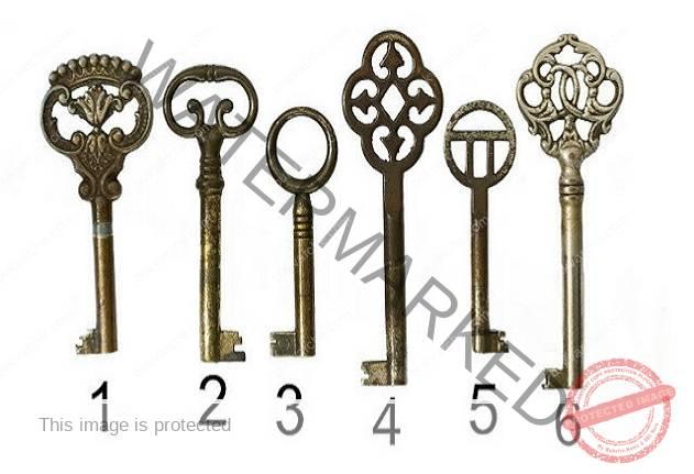 Изберете един ключ и узнайте повече за себе си!