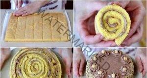 Италианска торта с орехи: Много вкусна и необичайна!