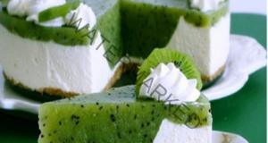 Освежаващ и нежен киви чийзкейк без печене: Лесно и вкусно