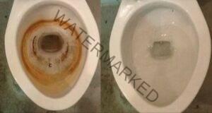 Премахнете ръждата от тоалетната само за 15 минути!