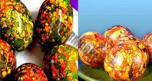 Страхотни идеи за боядисване на яйца без четка и стикери