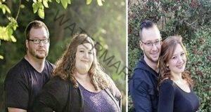 Съпрузите, които за 18 месеца свалиха 180 килограма
