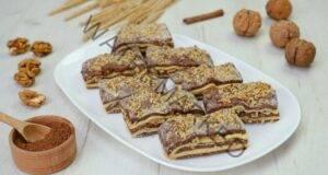 Бисквити от маслено тесто с орехи: вкусова експлозия
