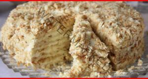 """Бърза торта """"Светлана"""" без печене: винаги великолепен резултат"""