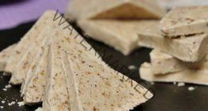 Бял тоблерон с лешници - приготвя се бързо и лесно
