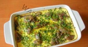 Вкусно и засищащо ястие: запеканка с пилешки дроб