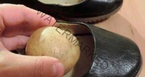 Ето защо поставянето на обелен картоф в обувките е чудесна идея