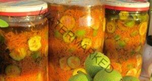 За бронзов тен: натурално масло със зелени орехи, моркови и зехтин