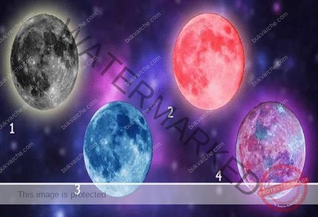 Изберете луна и узнайте какво ви очаква в близко бъдеще!