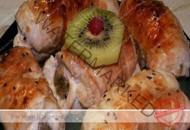 Рецепта за бързи и сочни пилешки рулца с гъби